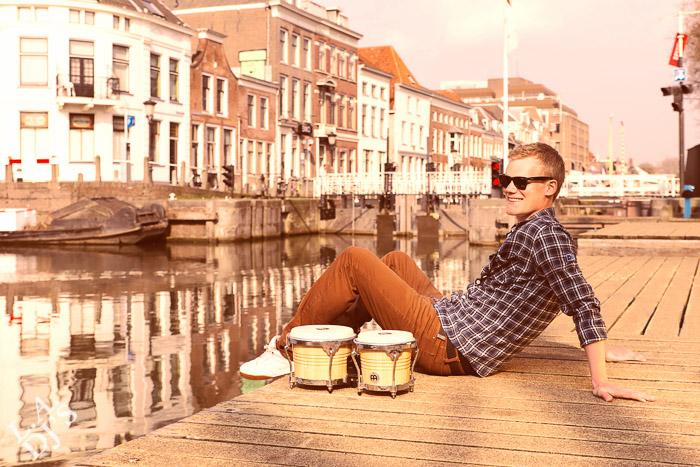 Percussionist Max van Winkelhof Utrecht