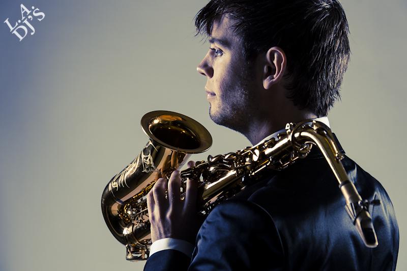 Saxofonist Tomas Delfgaauw