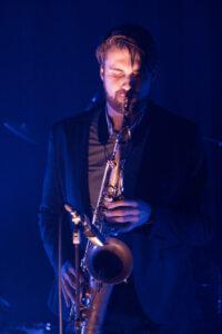 saxofonist Martijn, te boeken bij L.A.-DJ's te Utrecht